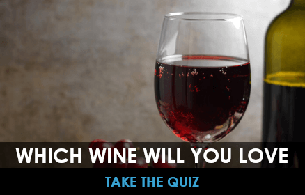 Which wine will you like quiz with wine in the background